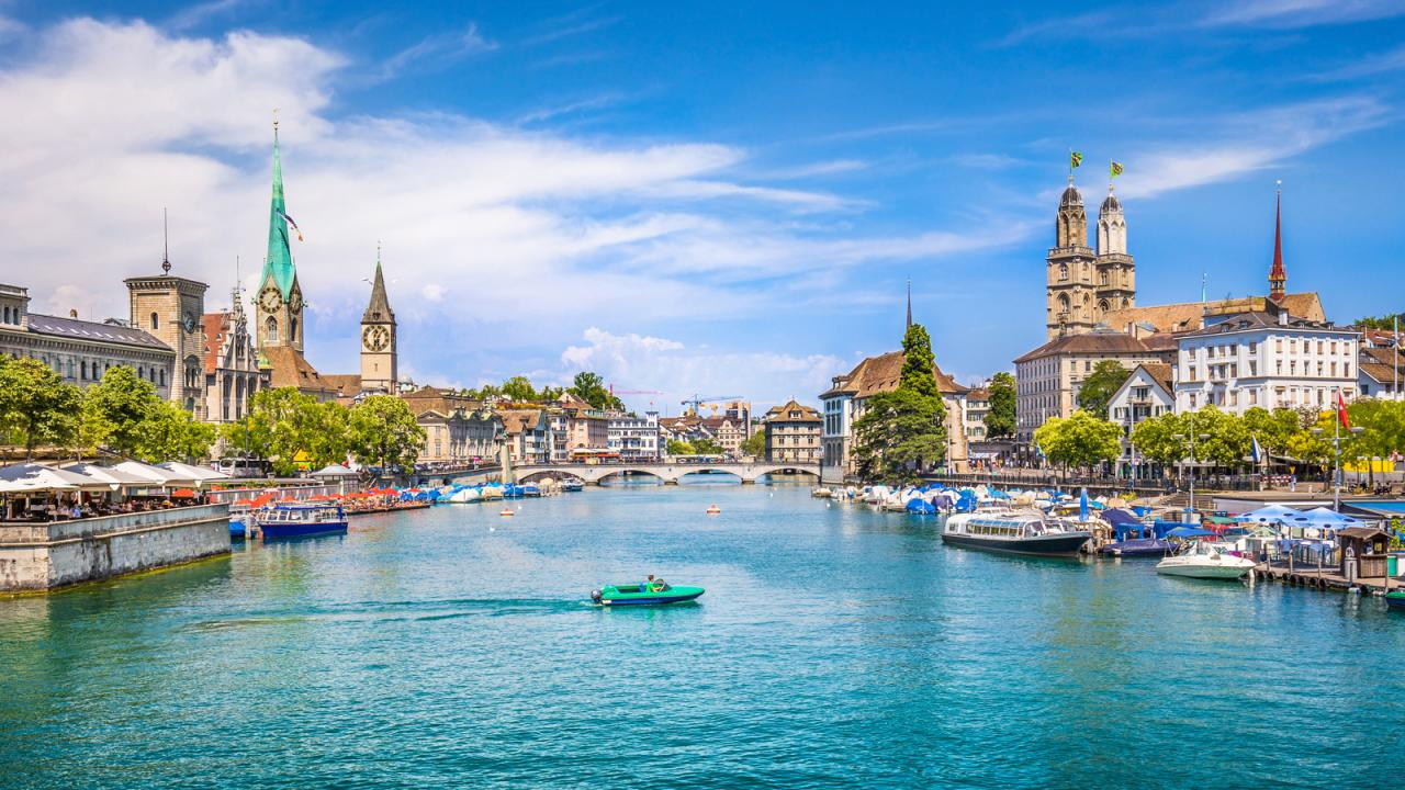 View of Zurich, Switzerland