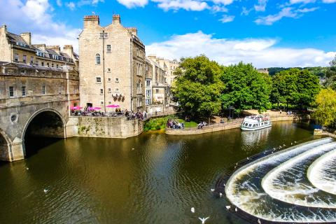 River Avon in Bath, Somerset