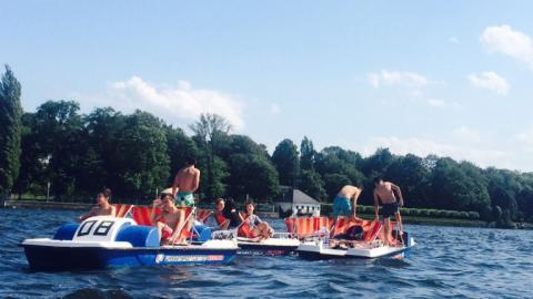 Outdoor sports with Alpadia Berlin-Wannsee Summer camps