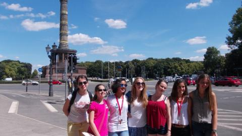 Sightseeing with Alpadia Berlin-Wannsee Summer camps