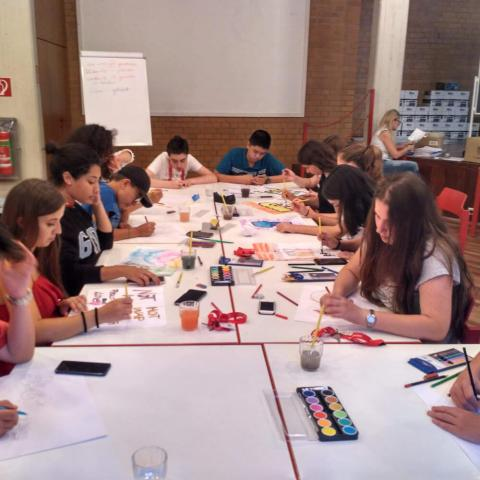 Alpadia Berlin-Wansee Summer Camp Premium+ Creative Arts activity