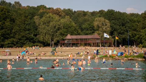 Swimming with Alpadia Berlin-Werbellinsee Summer camps