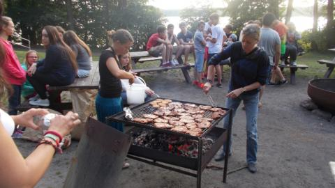 BBQ with Alpadia Berlin-Werbellinsee Summer camps