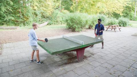 Table Tennis with Alpadia Berlin-Werbellinsee Summer camps