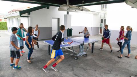 Table tennis with Alpadia Biarritz Summer camps