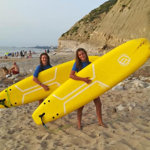 Alpadia Biarritz Summer Camp Premium+ Watersports activity
