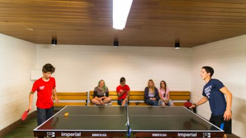 Table tennis with Alpadia Frankfurt Summer camps