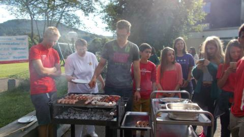 BBQ with Alpadia Frankfurt Summer camps