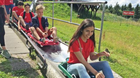 Outdoor activity with Alpadia Frankfurt Summer camps
