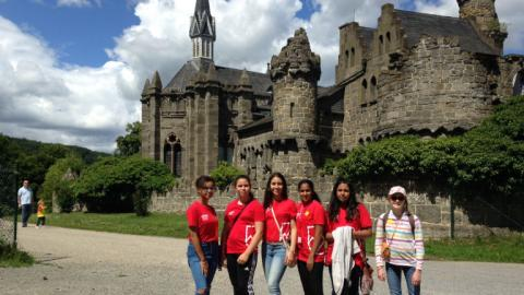 Sightseeing with Alpadia Frankfurt Summer camps