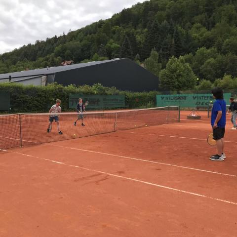 Alpadia Frankfurt-Lahntal Summer Camp Premium+ Tennis activity