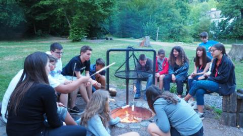 Camping with Alpadia Freiburg Summer camps