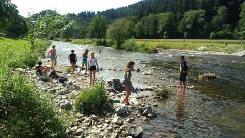 Outdoor activities with Alpadia Freiburg Summer camps