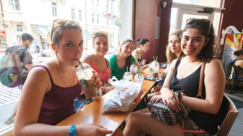 Sightseeing with Alpadia Freiburg Summer camps