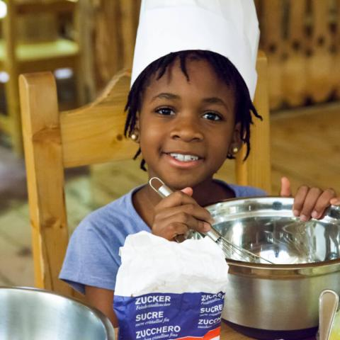 Alpadia Leysin Language Camp Premium+ Cooking activity