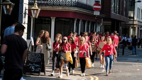 Sightseeing with Alpadia London City Summer camps