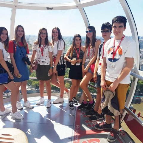 Alpadia London-City Summer Camp Premium+ City activity