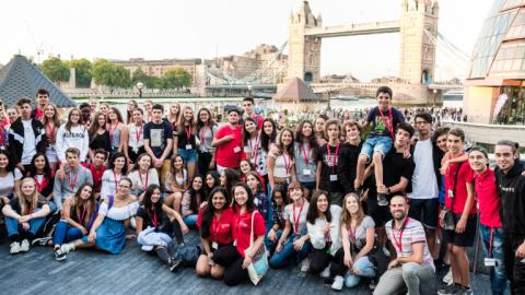 Sightseeing with Alpadia London Surrey Summer camps