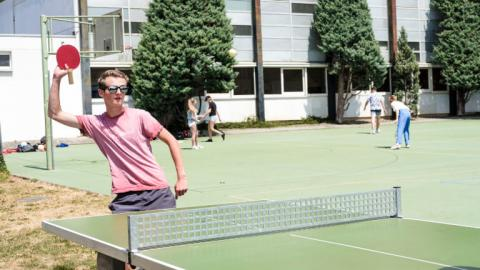 Alpadia Montreux Riviera Summer Camp table tennis