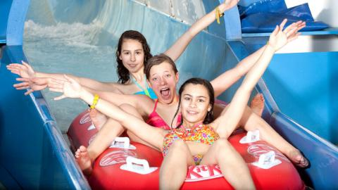 Alpadia Montreux Riviera Summer Camp Aquapark activity