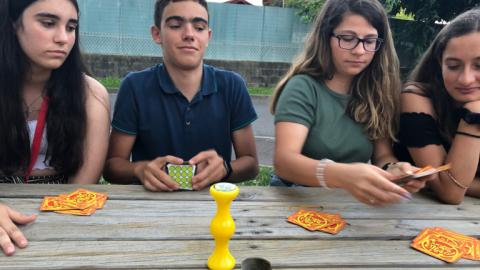 Games night with Alpadia Nice Summer camps