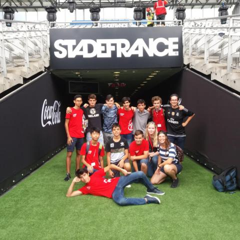 Paris-Igny Summer Camp Premium+ Stadiums activity