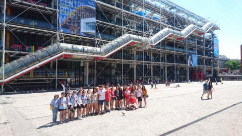 Sightseeing in Alpadia Paris-Passy Summer camps