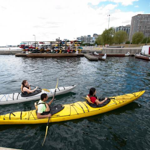 kayaking in Toronto