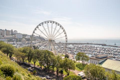 The English Riviera Wheel, Kaplan Summer Camps Torquay