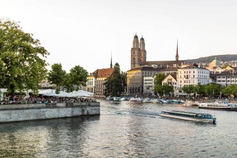Sightseeing in Zurich with Alpadia Languges
