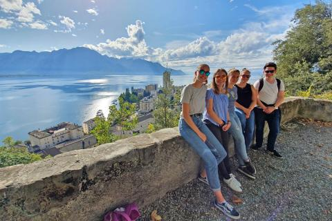Sightseeing in Montreux with Alpadia language schools