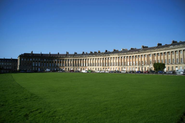 The Royal Crescent in Bath, Somerset
